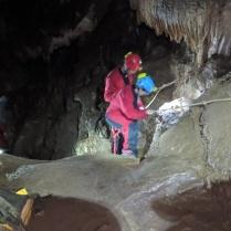 Caving, in Asturias