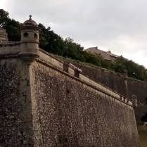 Pamplona city walls