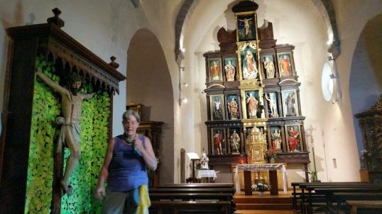 Zabaldika Iglesia San Esteban w Becky